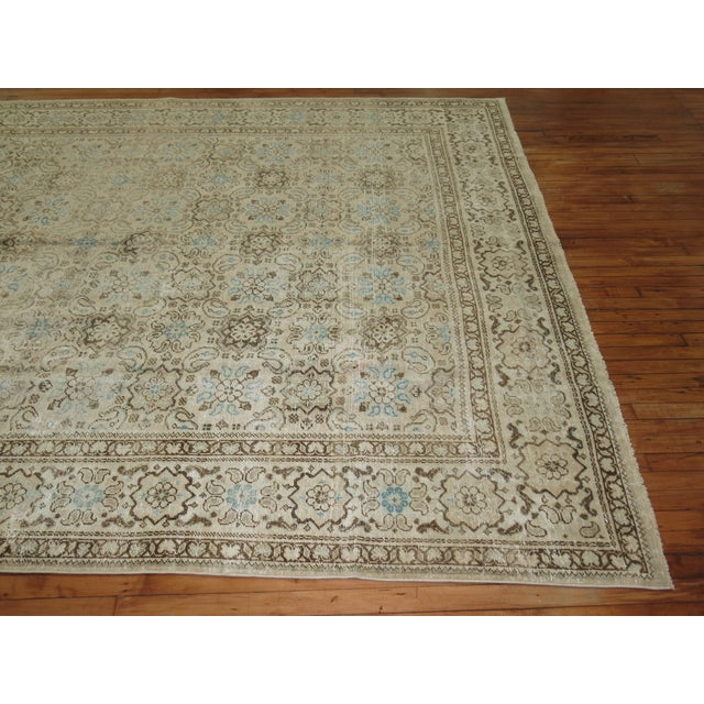 Vintage Shabby Chic Persian Malayer Rug, 8'1'' x 11'8'' - Image 4 of 9