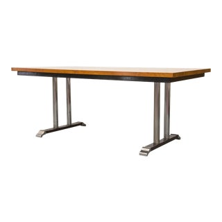 Rare Gispen Solid Wood 7208 Conference Table by CH Hoffmann for Gispen