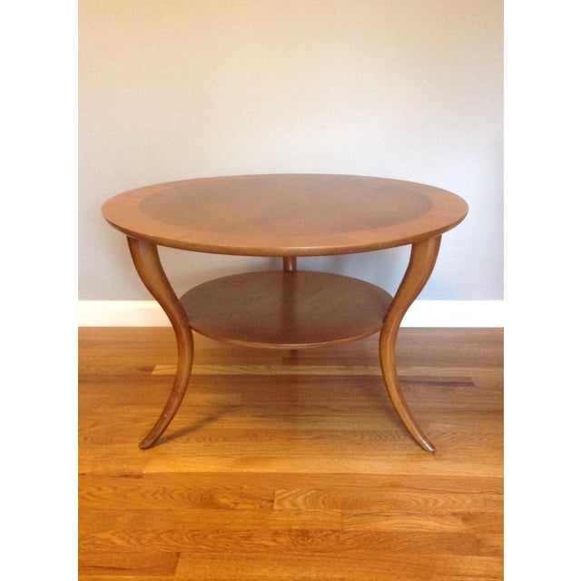 T h robsjohn for widdicomb mid century coffee table for Table th width ignored