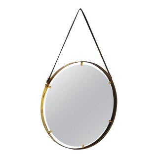 Brass Wall Hanging Mirror