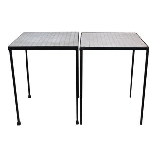 Iron Accent Tables - Pair