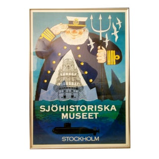 G. Olafsson Poster for Stockholm Maritime Museum