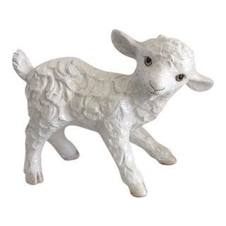 Italian Ceramic Lamb Figurine