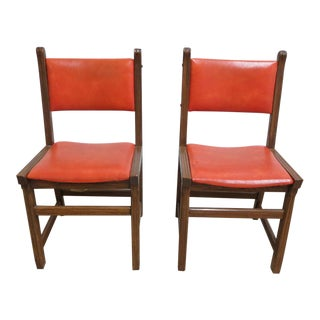 Mid-Century Modern Dining Room Side Chairs
