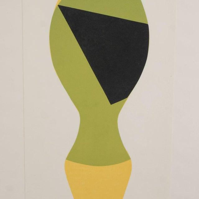 Mid-Century Modernist Woodcut by Hans Arp Poupee Sans Tete, 1964 - Image 3 of 8