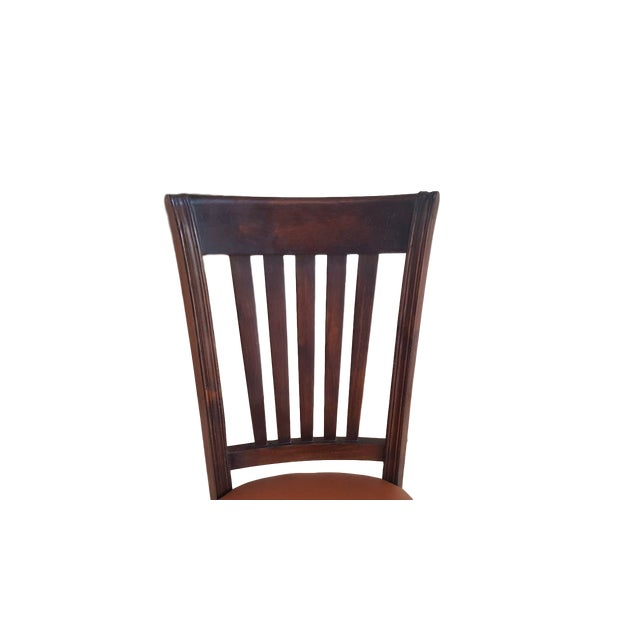 Image of Teak Wood Classic Dining Chairs - Set of 6
