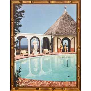 Slim Aarons Pool Scene Photograph