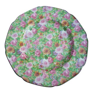 Crown Ducal Chintz Plate