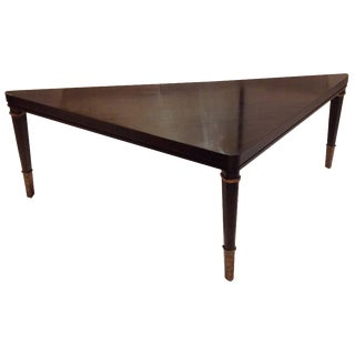 Triangular Cocktail Table by Hickory White