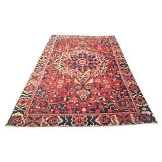 Vintage Heriz Persian Rug - 6′ × 10′