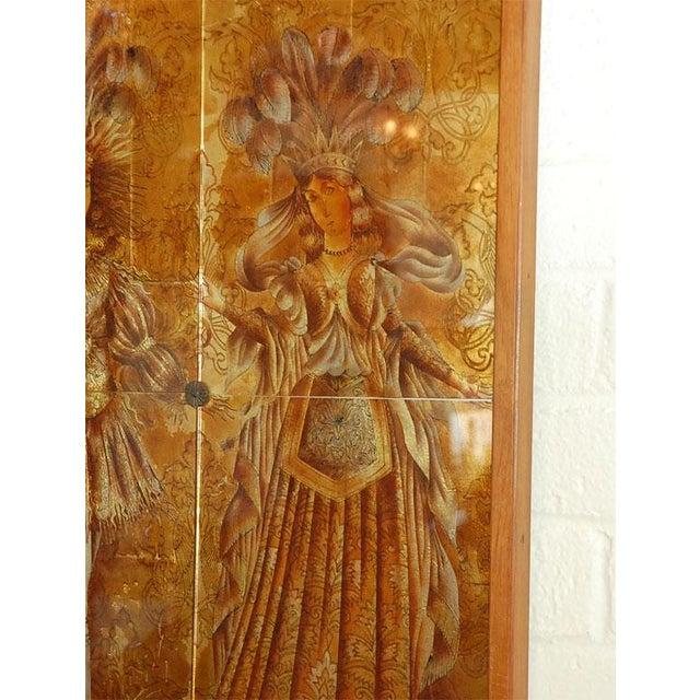Italian Mid-Century Églomisé Panel - Image 5 of 9