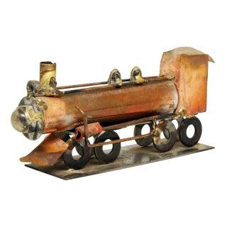Train Metal Sculpture by TDG