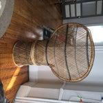 Image of Vintage Rattan Peacock Chair