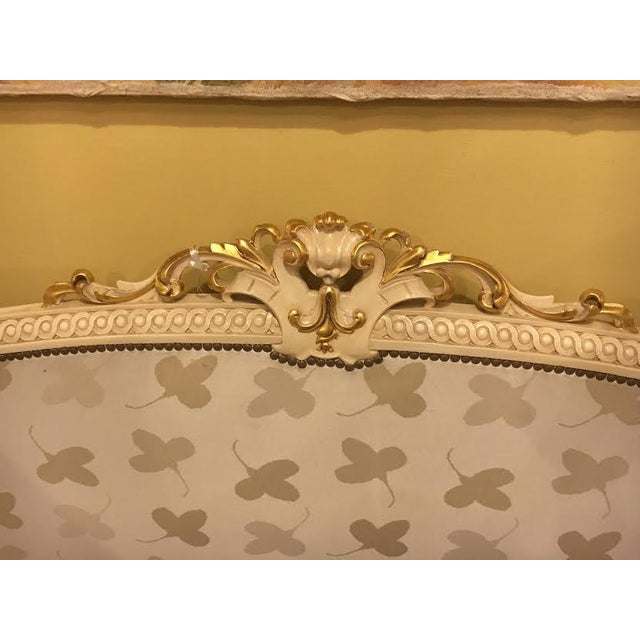 Painted French Louis XVI Style Bed - Image 4 of 7