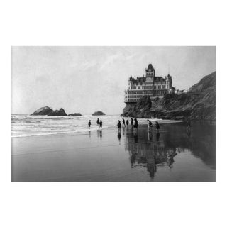 Print of Photo of Sf Cliff House in Late 1800's