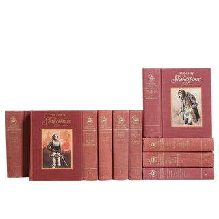 Shakespeare in Blush & Gilt, S/10