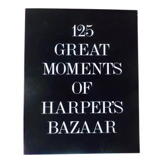 """""""125 Great Moments of Harper's Bazaar"""" Book"""