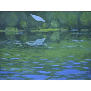 "Stephen Remick Painting ""Summer on the Lake"""