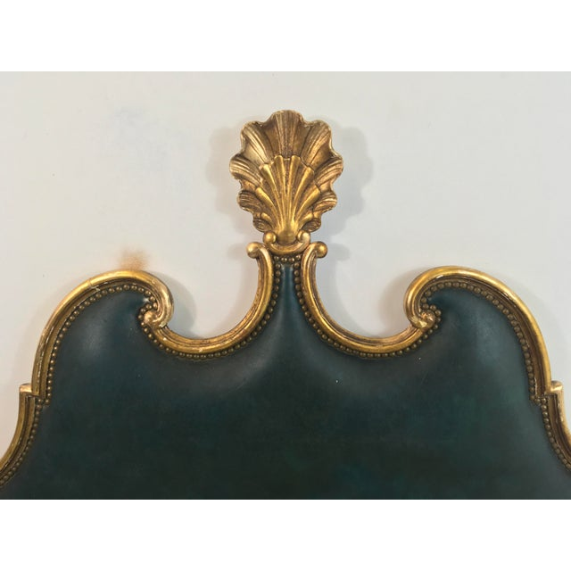 French Gilded Full or Queen Headboard - Image 3 of 4