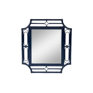 Ficks Reed Navy Mirror