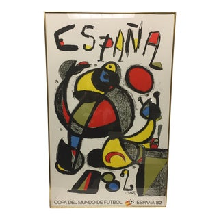 Spanish 1982 World Cup Poster