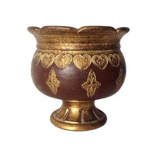 Italian Florentine Terracotta Urn, Center Planter