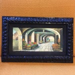Image of Mid-Century Painting W/ Ornate Frame