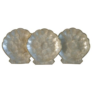 Capiz Shell Serving Pieces - Set of 3