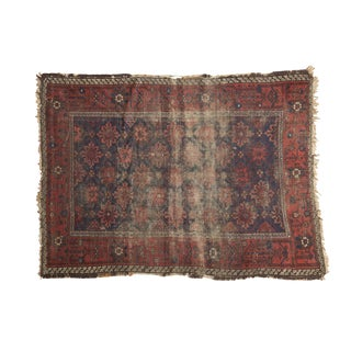 Antique Belouch Rug- 4' x 5'4""