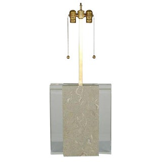 Architectural Fossil Stone Lamp