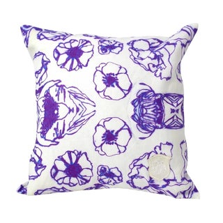Kristi Kohut Porcelain Pillow
