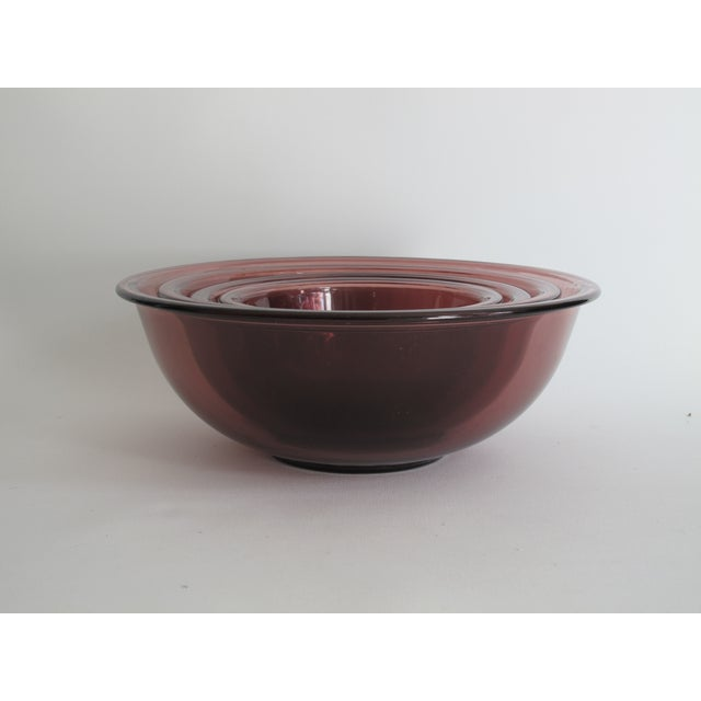 Purple Nesting Pyrex Bowls, Set of 4 - Image 3 of 7