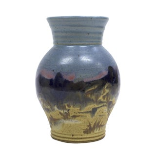 Ceramic Yellowstone Vase by Carl Sheehan