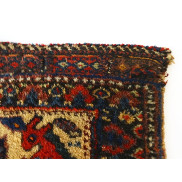 Bakhtiari Tribal Bag Face Decor - Image 5 of 7