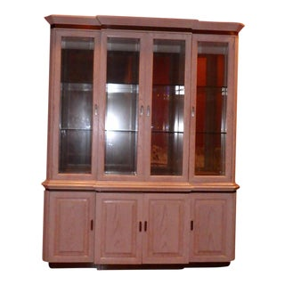 Vintage Used China And Display Cabinets