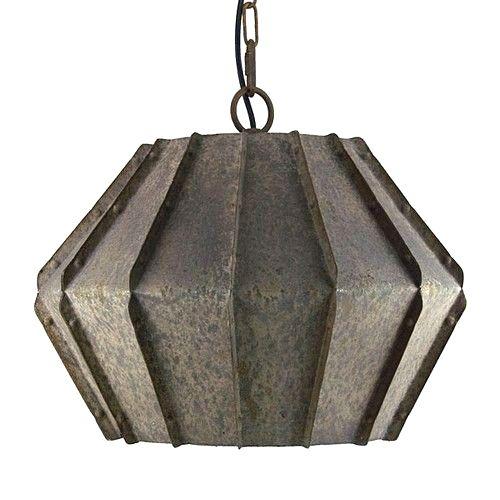 Metal Orson Lantern - Image 1 of 2