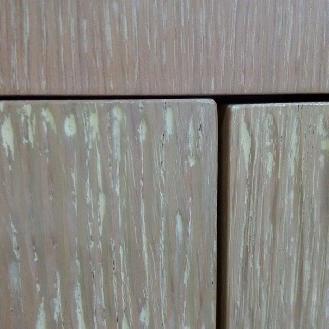 Modern Custom Oak Finish Buffet - Image 7 of 7