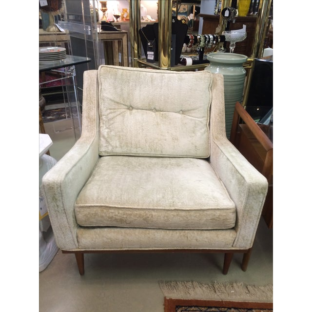 Milo Baughman Club Chairs & Ottoman - A Pair - Image 5 of 8