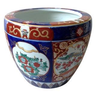 Japanese Gold Imari Porcelain Jardinière