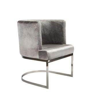 Hazel Silver Accent Chair