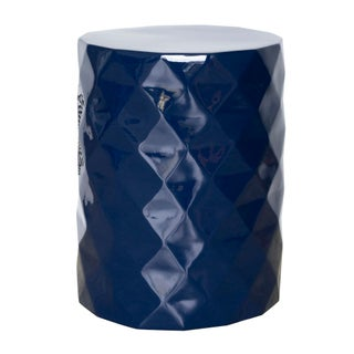Selamat Designs Gemma Navy Blue Lacquer Spot Table