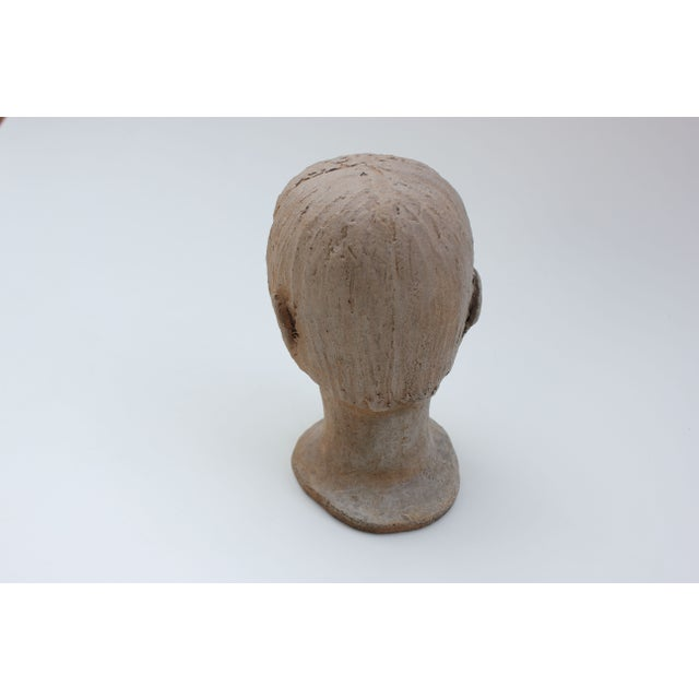 Vintage Studio Pottery Head Bust - Image 6 of 8