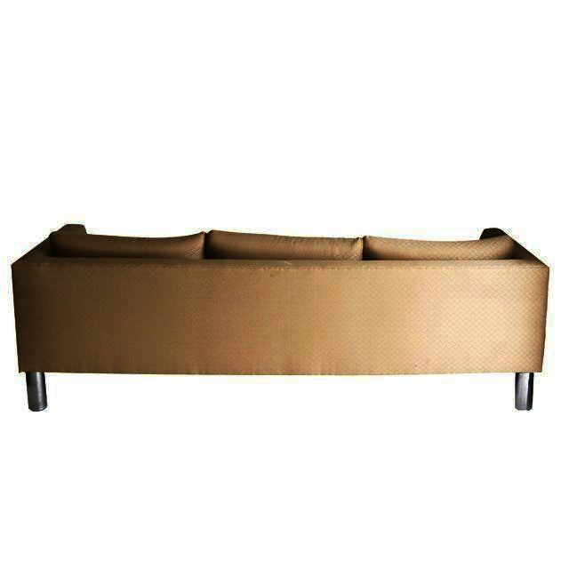 Image of Mid Century Modern Chrome Leg Sofa