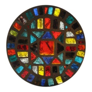 French Mid-Century Stained-Glass Window #2