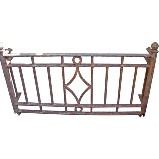 Deco Wrought Iron Balcony