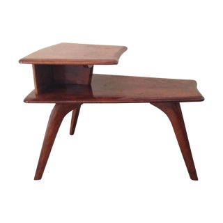 Heywood-Wakefield Tiered Wedge Table