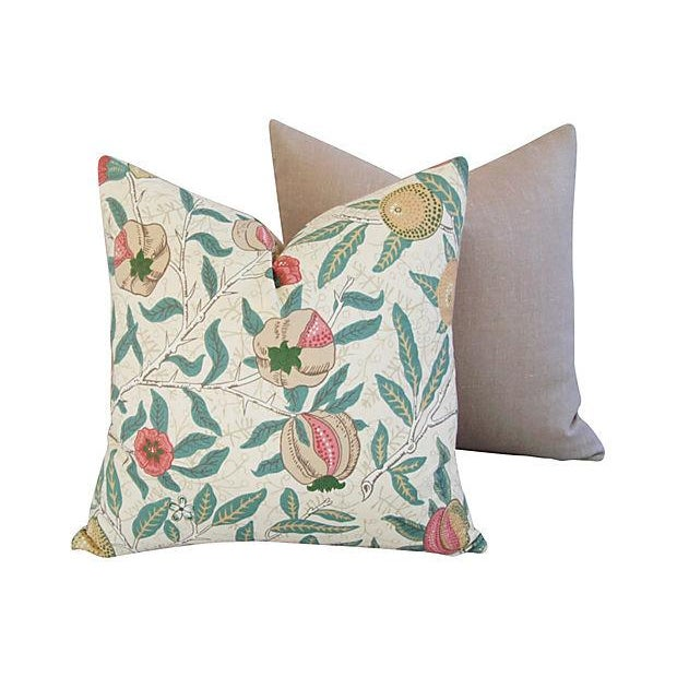 William Morris & Co Fruit Pillows - Pair - Image 5 of 7