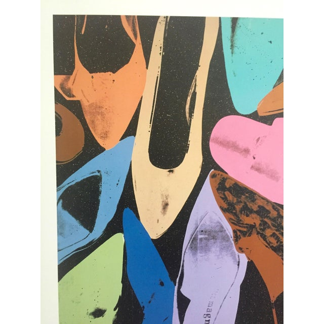 """Andy Warhol """"Diamond Dust Shoes"""" Offset Lithograph - Image 3 of 9"""