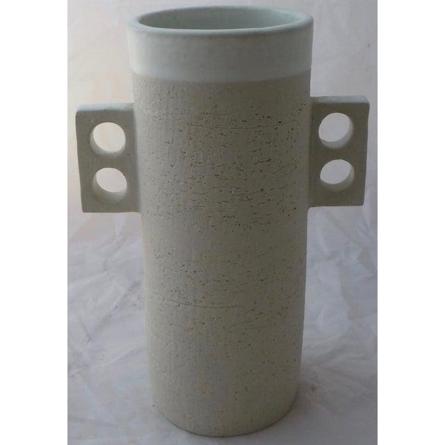 Large Jonathan Adler Architectural Vase - Image 4 of 9