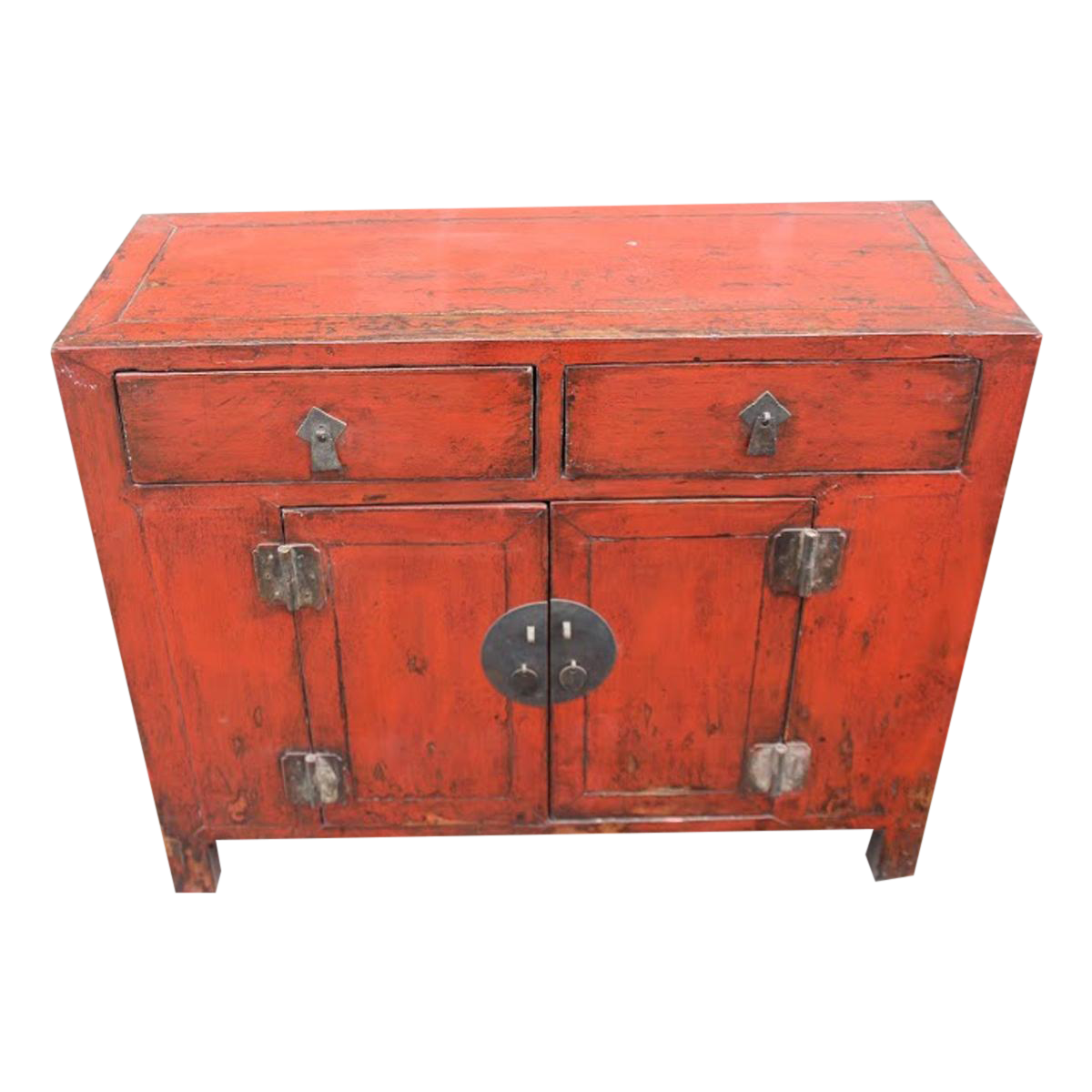 Vintage Used Red Credenzas and Sideboards Chairish